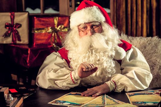 Brief an den Weihnachtsmann Muster