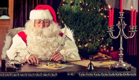 Brief vom Weihnachtsmann Vorlage