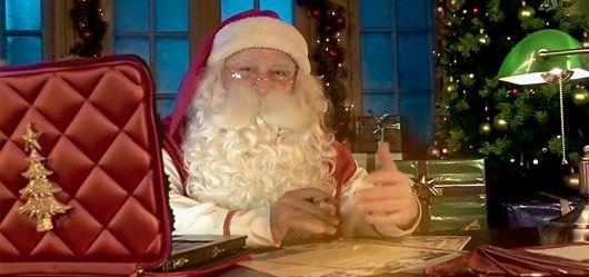 Breif vom Weihnachtsmann Muster