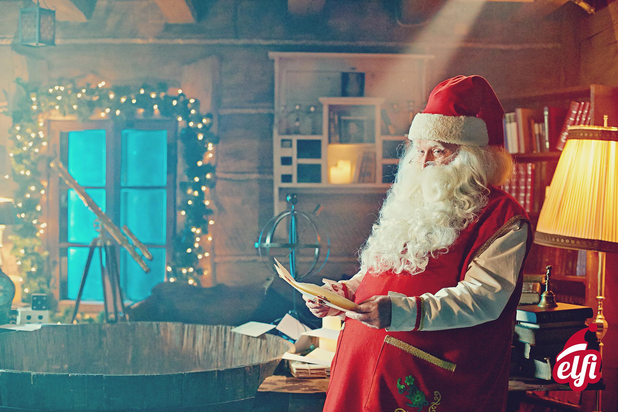 Video da Babbo Natale - Elfisanta.it